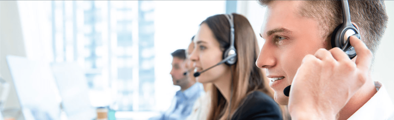 Cusotmer Traac Phone Service Professionals